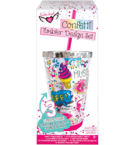 Fashion Angels Confetti Tumbler Design Kit