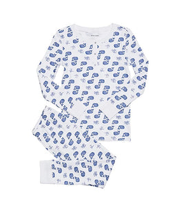 Roller Rabbit Moby Whales Toddler Pajama Set