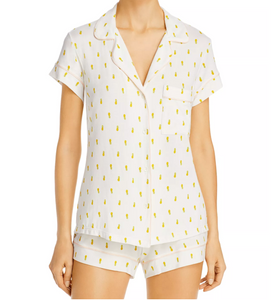 Eberjey Gisele Pineapple Short Sleeve PJ Set