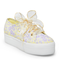 Superga x LoveShackFancy Purple Rain Platform Sneaker