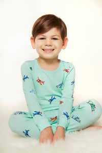 Lovey & Grink Airplane PJs