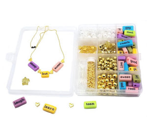 Bottleblond Use Your Words Jewelry Kit