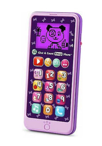 LeapFrog Chat and Count Emoji Purple Phone