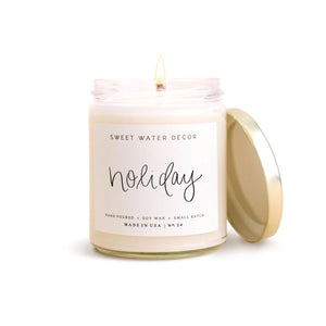 Sweet Water Decor Holiday Soy Candle