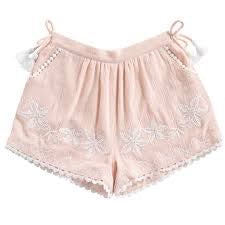 Louise Misha Maracas Blush Shorts