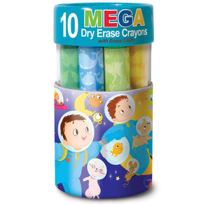 The Piggy Story Mega Space Adventure Dry Erase Mega Crayons