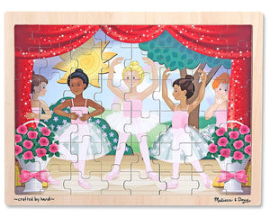 Melissa & Doug Ballet Performance Wooden Jigsaw Puzzle (48pc)