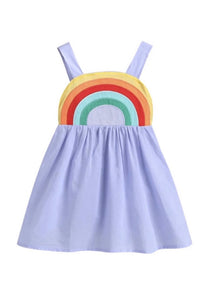 Lollipop Chic Bowtique Rainbow Sling Dress
