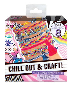 Fashion Angels Chill Out & Craft! Mix & Stack Bracelet Kit