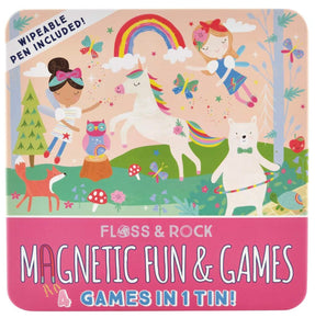 Floss & Rock Rainbow Fairy Magnetic Fun & Games Compendium