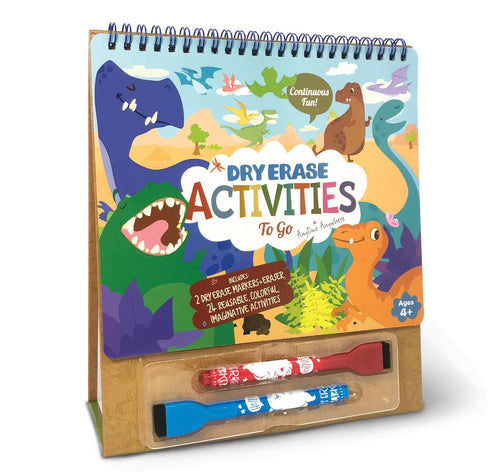 The Piggy Story Dry Erase Dinosaur Activity Set