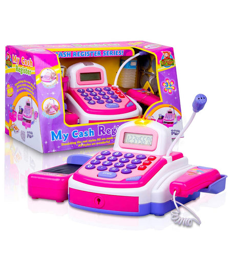 CifToys Cashier Toy Cash Register Playset