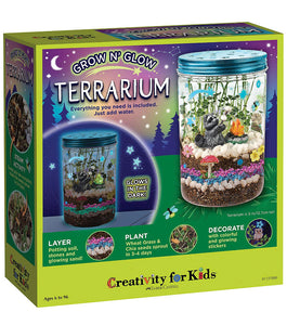 Creativity for Kids Glow 'n Grow Terrarium