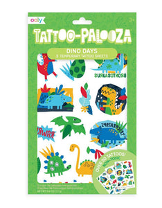 ooly Tattoo-Palooza Temporary Tattoos: Dino Days