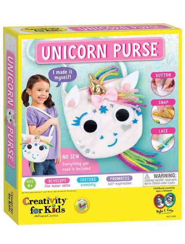 Creativity for Kids Design Your Own Unicorn Purse