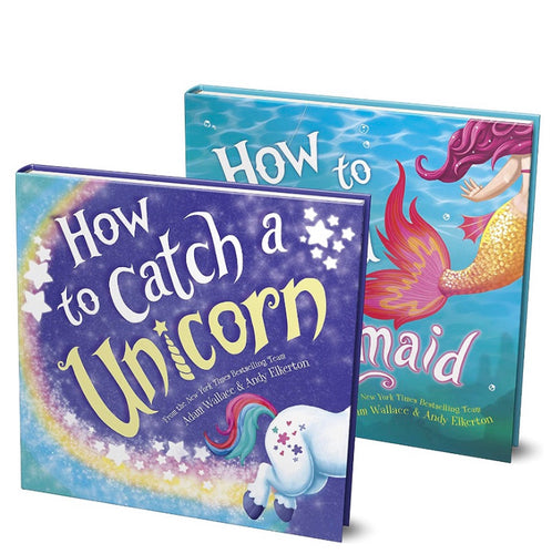 Sourcebooks Book Set: How To Catch a Unicorn & How To Catch a Mermaid