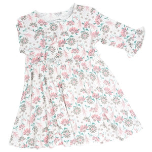 Sweet Bamboo Southern Sweetheart Retro Flower Dress