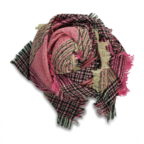 Hat Attack Autumn Fuchsia Scarf