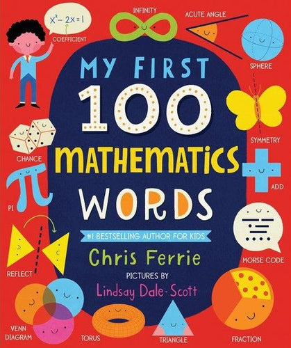 Sourcebooks My First 100 Mathematics Words (a STEM Board Book)