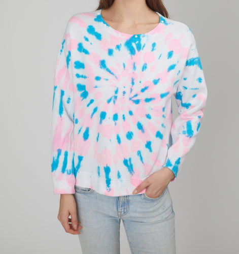 Generation Love Carter Hot Pink/Blue Sweatshirt