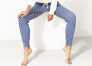 Stripe & Stare Navy Polka Dot Set