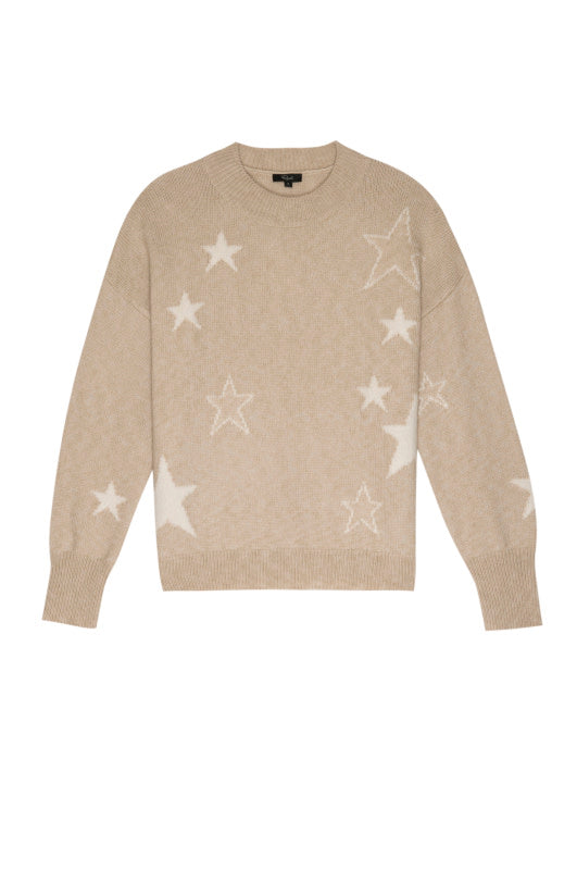 Rails Kana Camel Stars Sweater