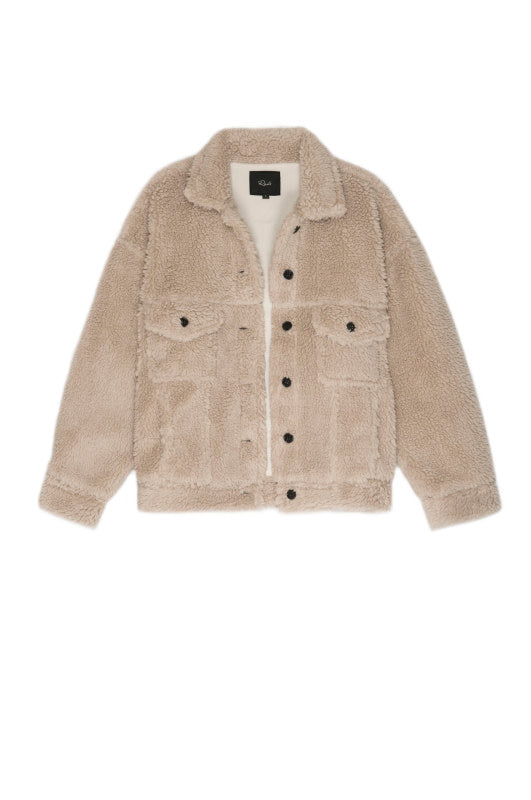 Rails Trucker Cream Jacket
