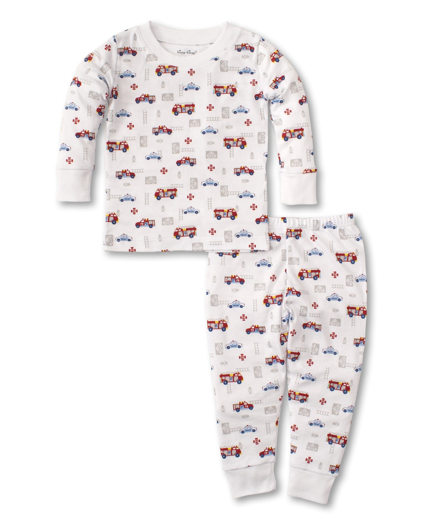 kissy kissy Rescue Team Toddler Pajama Set