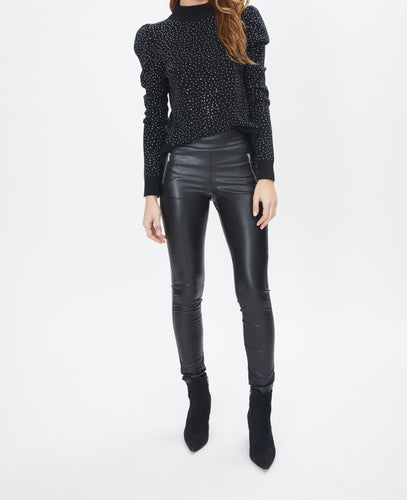 Generation Love Krista Black Crystal Sweater