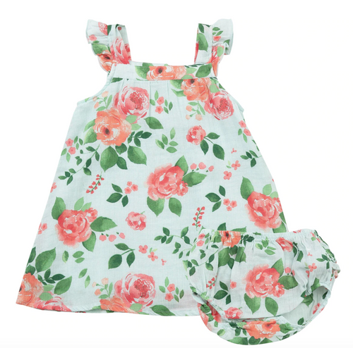 Angel Dear Rose Garden Sundress