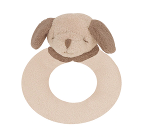 Angel Dear Puppy Ring Rattle