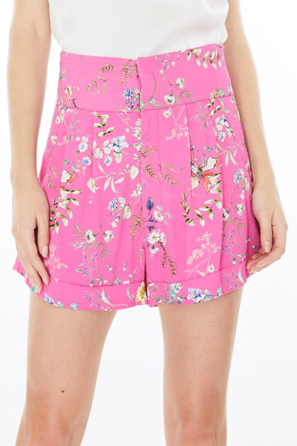 Generation Love Kelsey Pink Floral Shorts