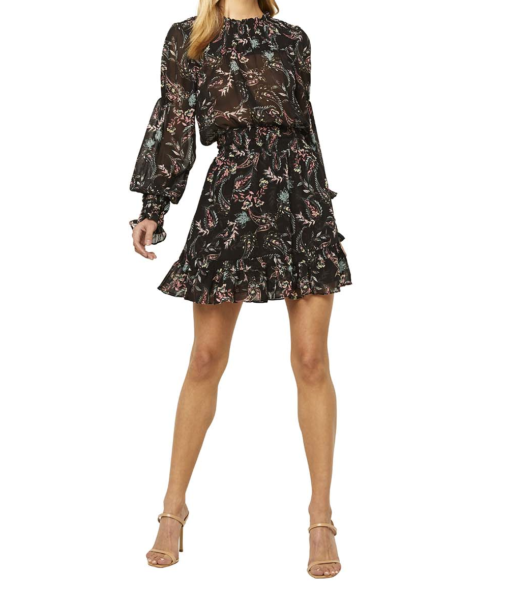 MISA Marin Paisley Dress