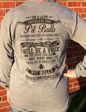 Pit Bull Advocate Long Sleeve Tee