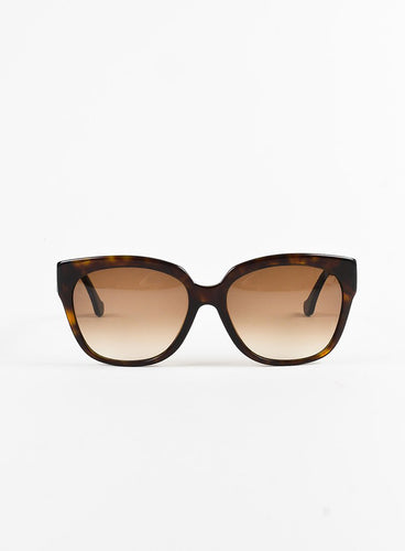 Black Gold Tone Sunglasses