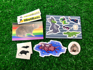 Rat Pack Sticker Bundle!