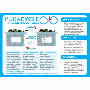 Puracycle Remarkable Label, 50 Pack