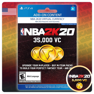 NBA 2k20 VC pack PlayStation 4 (US)