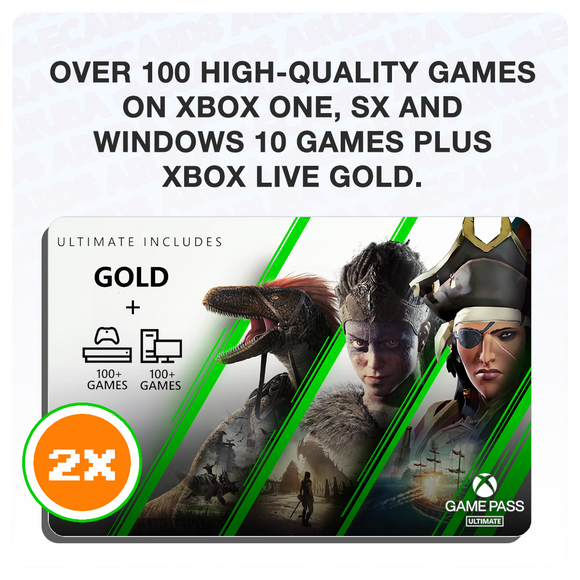 Xbox Game Pass Ultimate 6 Months USA