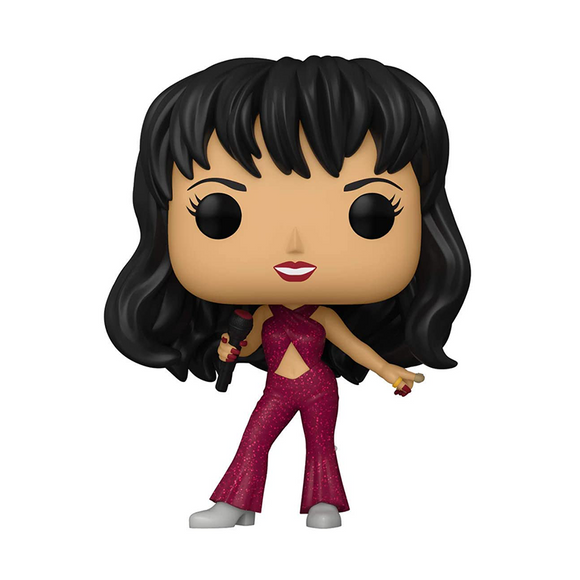 Funko Pop! Rocks: Selena Burgundy Outfit (Available Soon)