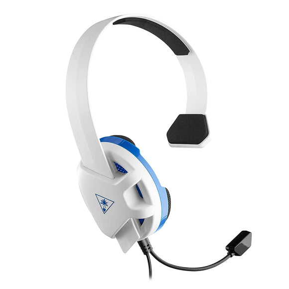 Turtle Beach Recon Chat White Gaming Headset for PS4, PS4 Pro, PS5