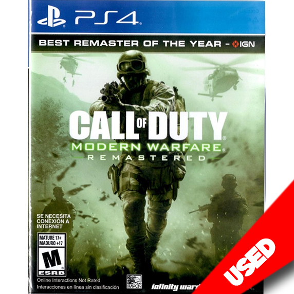 Call of Duty: Modern Warfare Remastered (PS4) - eCards Aruba