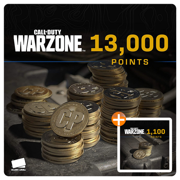 13000 COD Points Gift Card Code + BONUS 1100 POINTS (US)