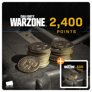 2400 COD Points Gift Card Code + BONUS 500 POINTS (US)