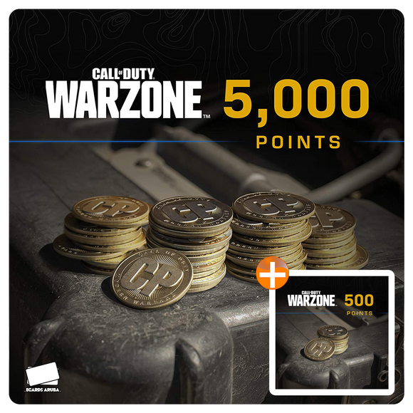 5000 COD Points Gift Card Code + BONUS 500 POINTS (US)