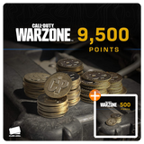 9500 COD Points Gift Card Code + BONUS 500 POINTS (US)