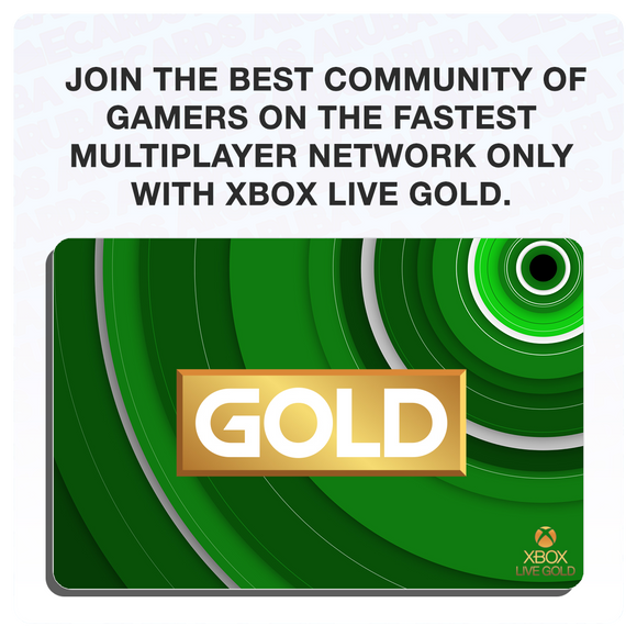 Xbox Live Gold 6 Months Gift Card Codes (US) (Requires VPN if outside U.S.)
