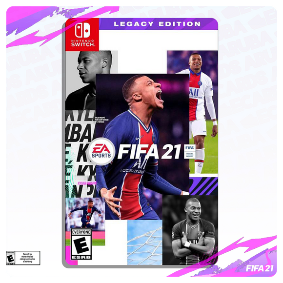 FIFA 21 Legacy Edition - Nintendo Switch [Digital Code]