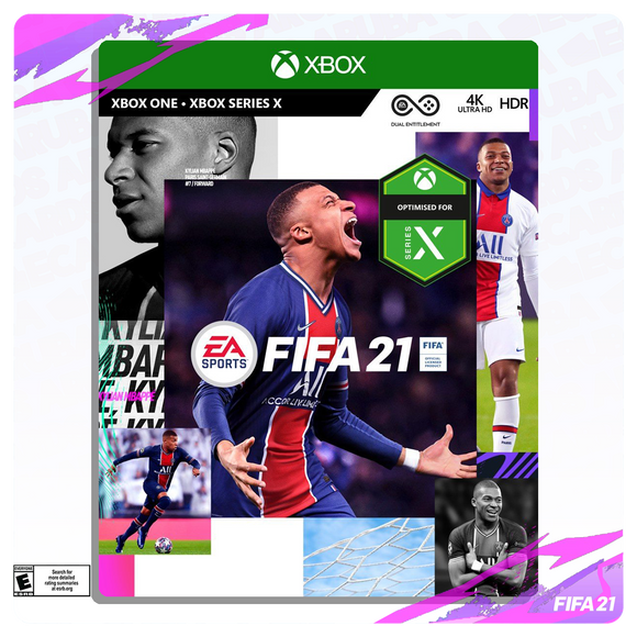 FIFA 21 Standard Edition - Xbox One - Seriex X [Digital Code]