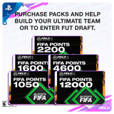 FIFA 21 FUT Points plus 500 bonus Points - PS4